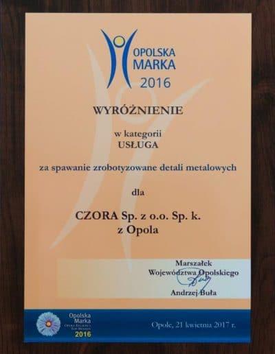 Czora.eu - nagroda